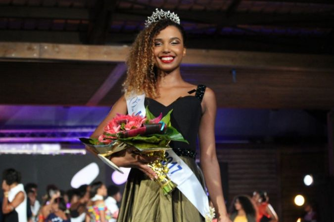 VANYLLE EMASSE , MISS MAYOTTE 2017 © PHOTO : FRANCK TUSEVO :