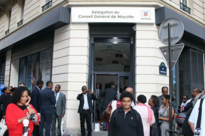 © PHOTO : EMMANUEL TUSEVO : DELEGATION DU CONSEIL DEPARTEMENTAL DE MAYOTTE A PARIS