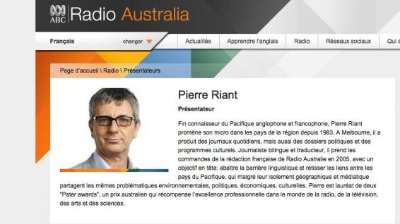 © http://www.radioaustralia.net.au/french/radio/presenter/pierre-riant