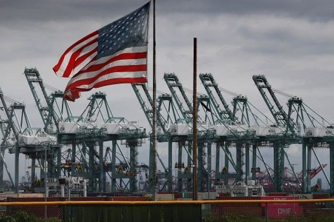 Port industriel de Long Beach aux Etats-Unis © AFP
