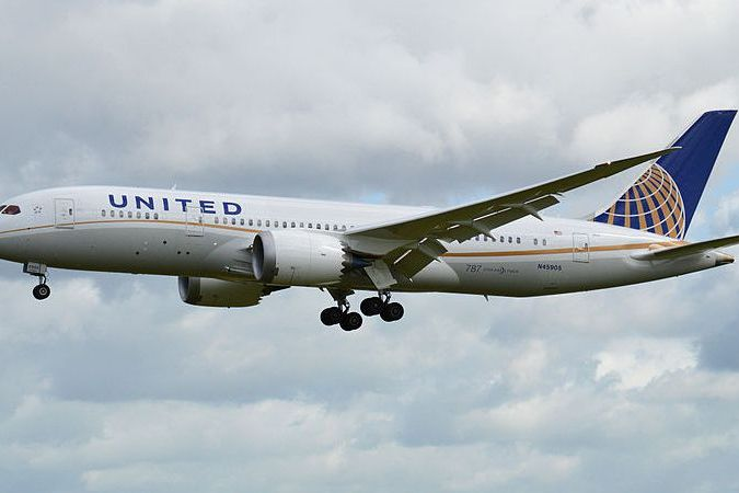Un Boeing 787 d' United Airlines © Wikimedia