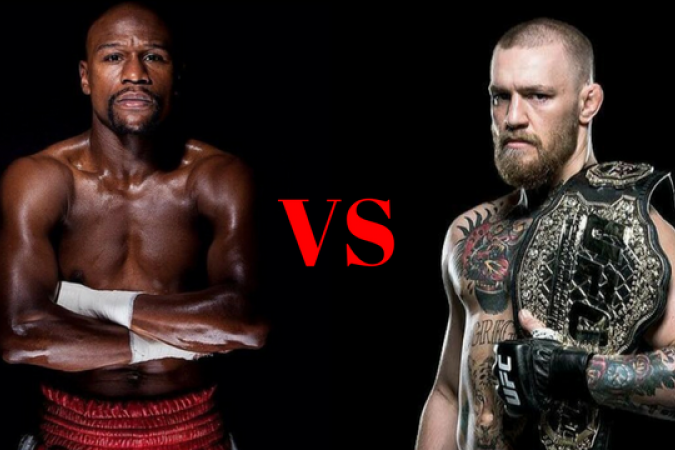© Page Facebook officielle de Floyd Mayweather ; Page Facebook officielle de Conor McGregor‏