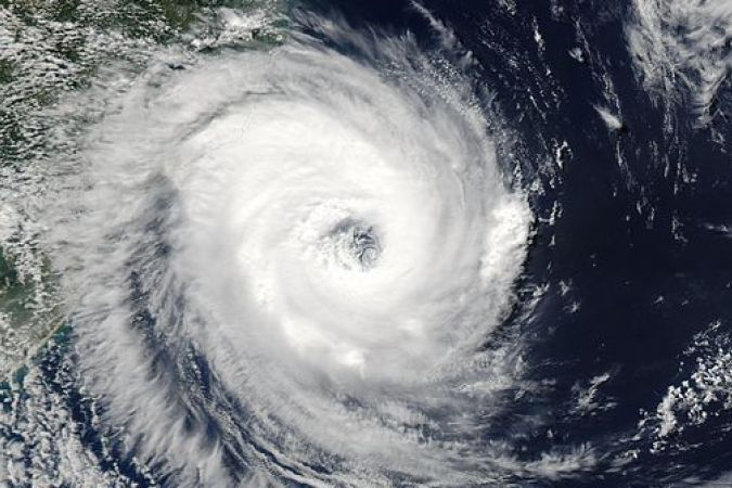 Hector, cyclone de catégorie 4 (illustration) © CCO Wikipedia / Jeffe Schwaltz NASA