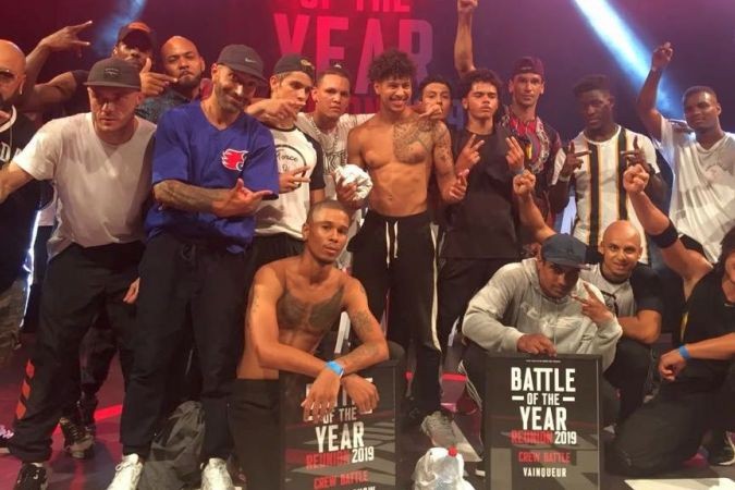 """Le crew """"Force Of Nature"""" remporte le Battle Of The Year 2019"""
