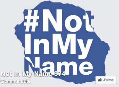 Not in my name © DR