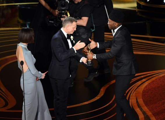 "Mahershala Ali a remporté l'Oscar du meilleur second rôle pour sa participation à ""Green Book"". © KEVIN WINTER / GETTY IMAGES NORTH AMERICA / AFP"