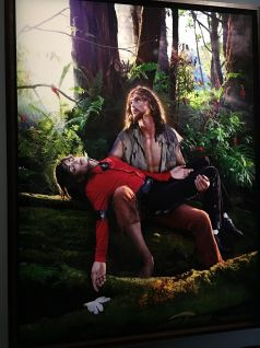 "David Lachapelle, ""American Jesus : Hold me, Carry me Boldly"", 2009. © David Lachapelle"
