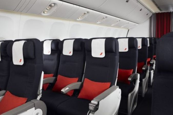Air france promet plus de confort pour ses passagers en for Interieur d un avion air france