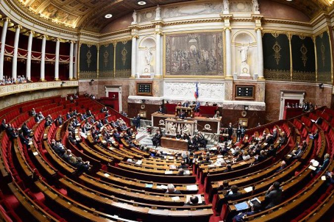 L'Assemblée nationale © BERTRAND GUAY / AFP