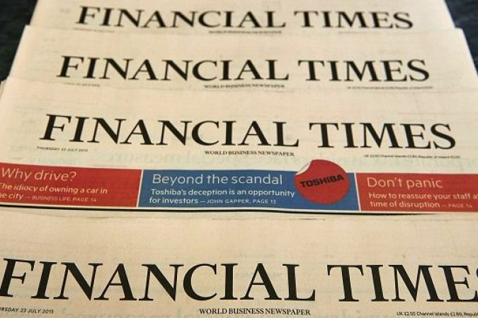Financial Times © AFP