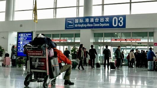 Aéroport de Hangzhou, Chine © https://www.cnbc.com/2016/08/28/chinas-aviation-watchdog-slams-hangzhou-airport-ahead-of-g-20-world-leaders-summit.html